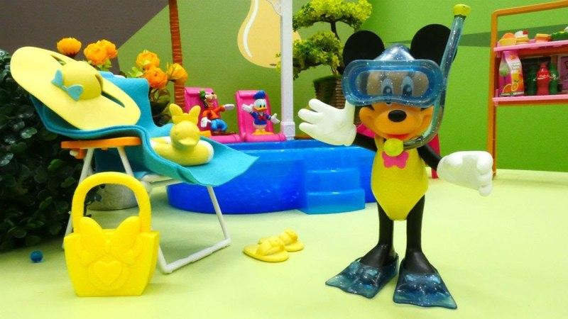 Видео для детей Минни Маус на отдыхе Minnie Mouse