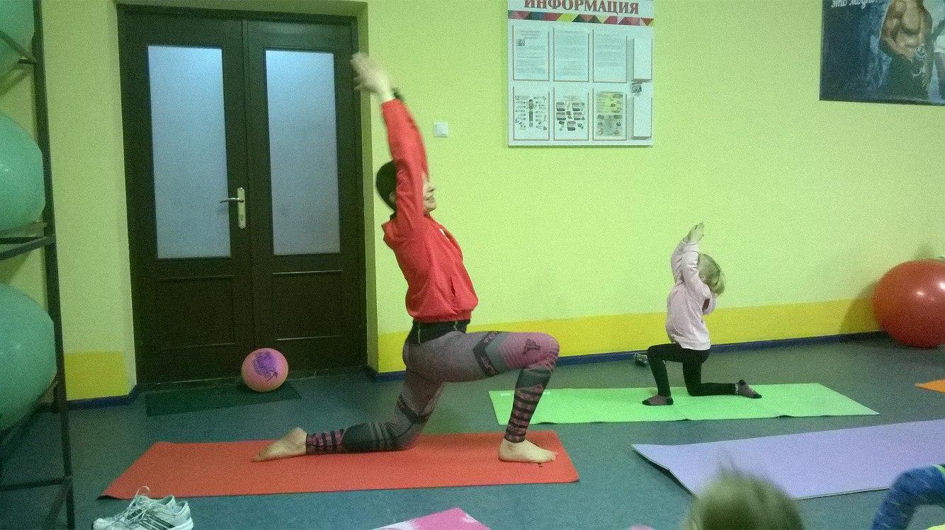 В Ошмянах открылся фитнес для детей 3-6 лет