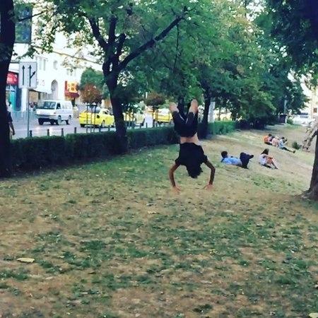 "Nina Dobrev on Instagram Afternoon Strolls in the Homeland Sofia Bulgaria Bravo 👌🏼"""