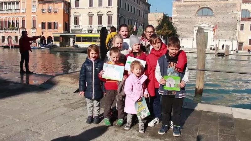 Видео-послание президенту РФ В.В. Путину от православных детей прихода Святых Жен Мироносиц г. Венеция (Италия)