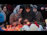 Акции памяти погибших при пожаре в ТЦ