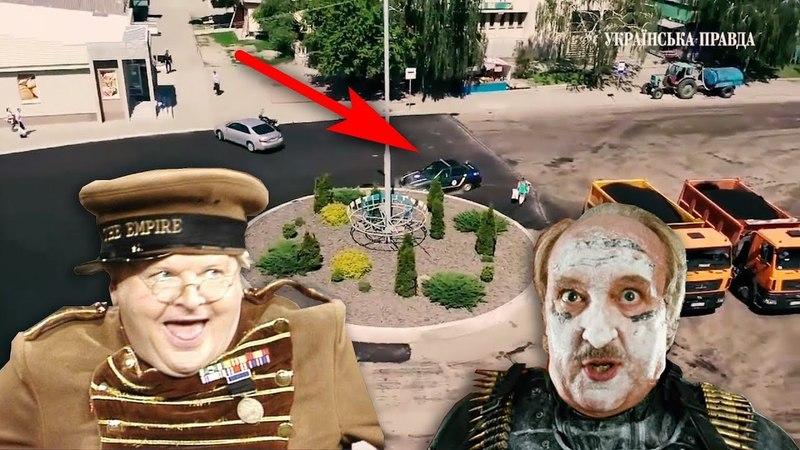 Гонки Дама VS полиция в Ржищеве Киевской области
