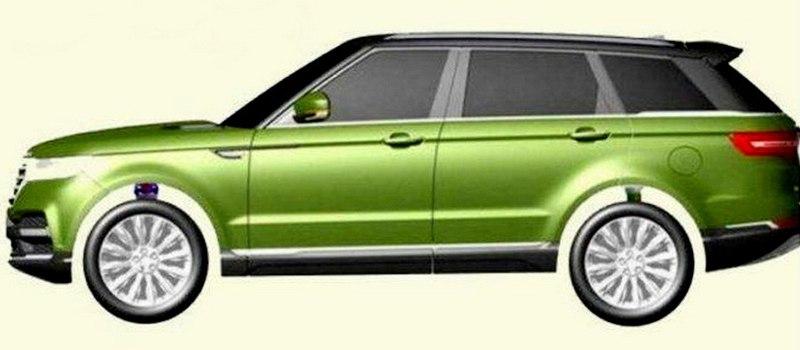 «Китайский Range Rover» будет стоить вчетверо дешевле настоящего