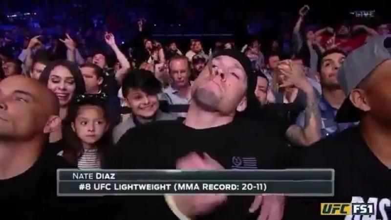 Nate Diaz on UFC Austin 126