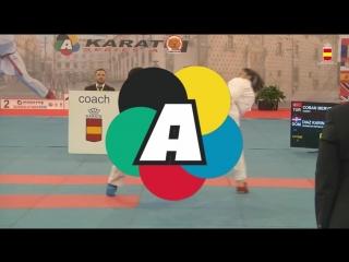 Гвадалахара-2018. Финал в женском кумитэ до 61 кг