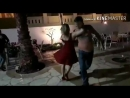 Отпускные танцы. Я танцую с мужем Илоны - Денисом, мой Игоречек снимает видео. Мигель от нас В ШОКЕ))