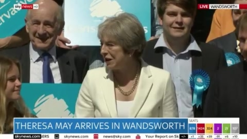 'They threw everything they had and FAILED' Theresa May taunts Labour after election FLOP