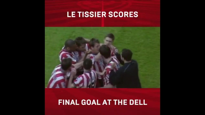 A fairytale ending at The Dell! - - OnThisDay in 2001, SaintsFC royalty @mattletiss7 struck the final league goal at our old hom