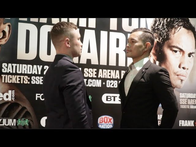 CARL FRAMPTON v NONITO DONAIRE - OFFICIAL HEAD TO HEAD FROM BELFAST FRAMPTON v DONAIRE