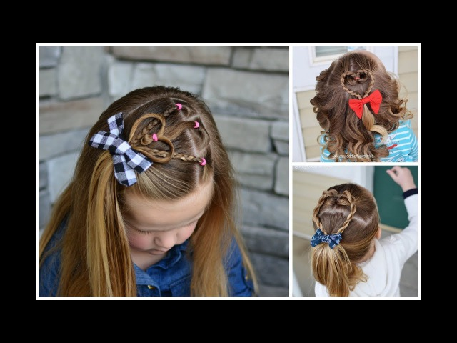 3 Fast Valentine's Hairstyles for Girls