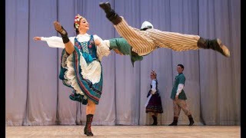 Польский танец Оберек. ГААНТ имени Игоря Моисеева.