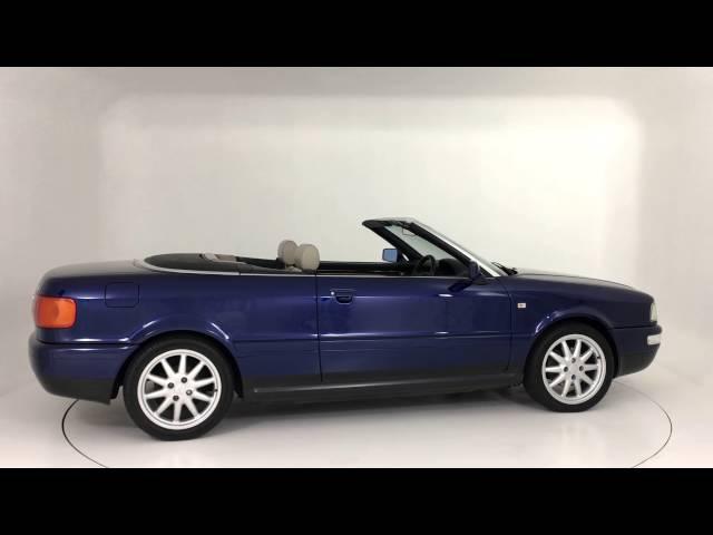 Prestige Classic- Audi Cabriolet 2.8 Santorin Blue Pearl