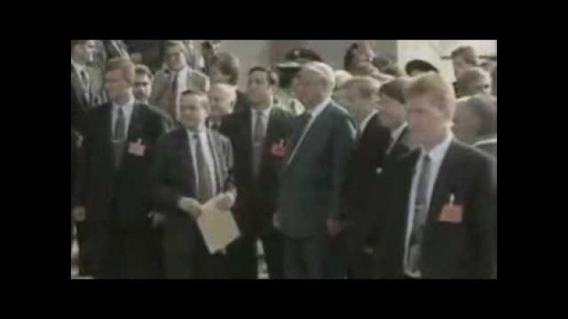 Ельцин исполняет Калинку