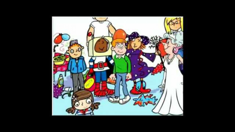 English for children. The Party Was Good (Past Simple) - Song (KB4)
