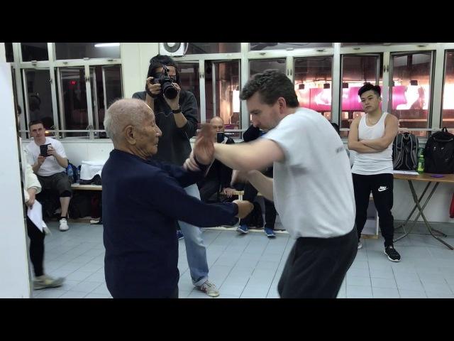 GM Ip Chun and Sifu Colin Ward for HK Wing Chun TV