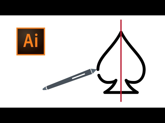 03 - Drawing Symmetrical Shapes in Adobe Illustrator CC