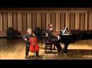 David Grigorian, Valentini cello sonata E-dur