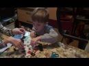 Lego City 60145 Конструктор Багги. Распаковка и сборка автомобиля монстр трак из серии ...