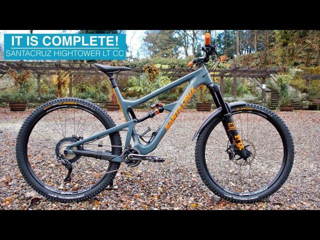 My New SANTACRUZ HIGHTOWER LT Bike Build Day 2