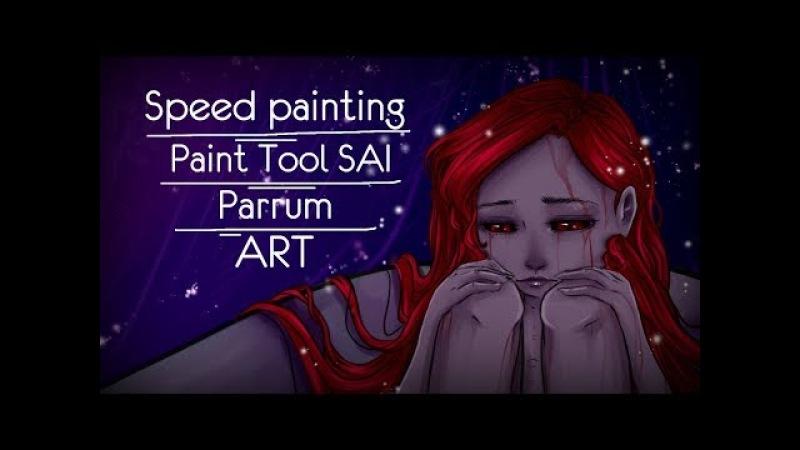 Speed painting: Paint Tool SAI / Parrum /ART/스피드 페인팅/아