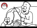 A Christmas Yarn - Simon's Cat (A Christmas Special) | BLACK WHITE