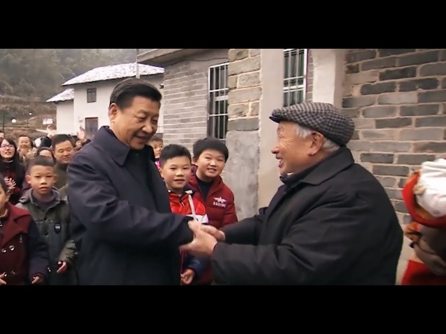 How does President Xi Jinping help the poor