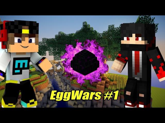 Minecraft. СЕТЕВАЯ ИГРА. 45. Победный EggWars на сервере MelonCraft