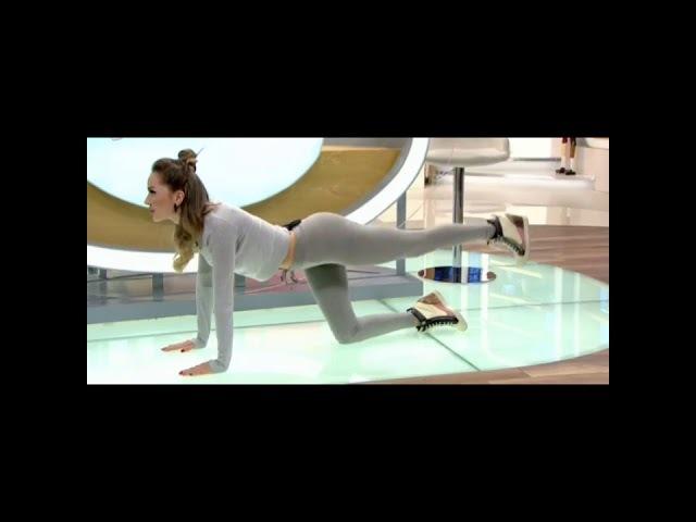 Cansu Taşkın Kalça Sıkılaştırıcı Pilates Dersleri