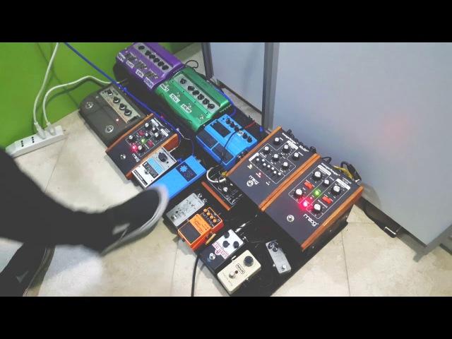 Dani California (Live at Fuse Studios) Guitar Cover Pedals