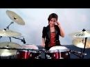 FROZEN Let It Go Drum Cover by Nur Amira Syahira