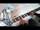Sword Art Online II OP 2 ソードアート・オンラインII - Courage (Piano)