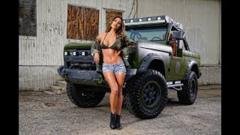 Гараж RMD 1 серия тюнинг Ford Bronco автошоу SEMA