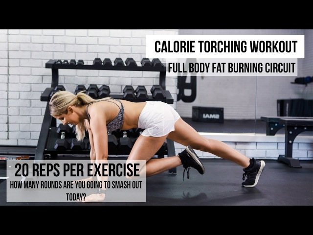 CALORIE TORCHING WORKOUT