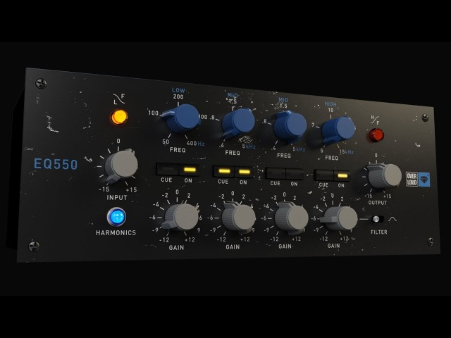 Overloud Gem EQ550 Proportional Q equalizer