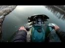 Перевернулся на мотоцикле Урал почти два раза.Вброд через реку/Turned over to the Ural motorcycle