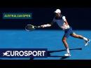 Australian Open 2018 Day 2 Top 5 Shots Eurosport