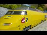 TGV ICE T HI SPEED RUN