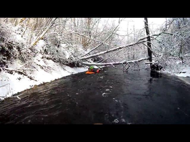 Игровой сплав по реке Лава, Ленобласть River Lava Playboating