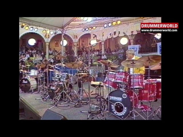 THE CLASSIC DRUM BATTLE: Huub Janssen - Charly Antolini - Pete York