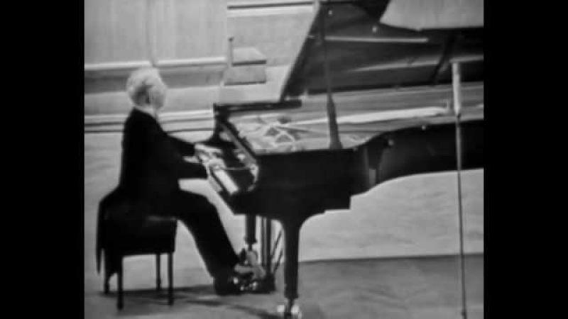 Фридерик Шопен. Соната для фортепиано №2 си-бемоль минор, часть 3. Исполняет Артур Рубинштейн