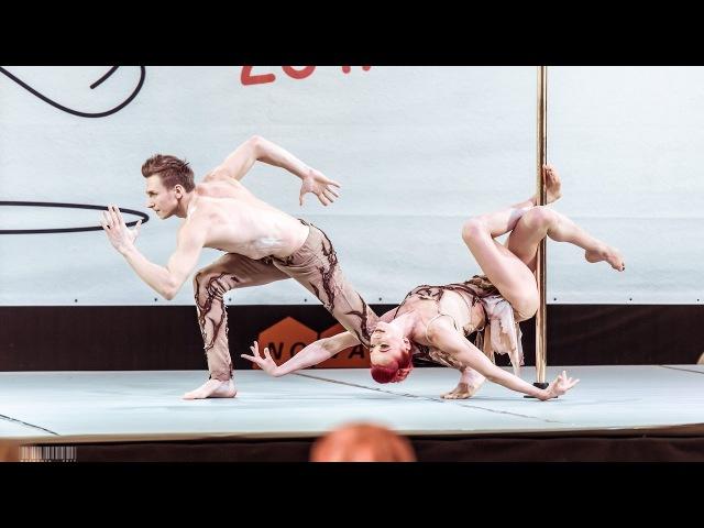 POLE SPORTS RUSSIA 2017 | Pink Puma and Dmitriy Politov (Demo)