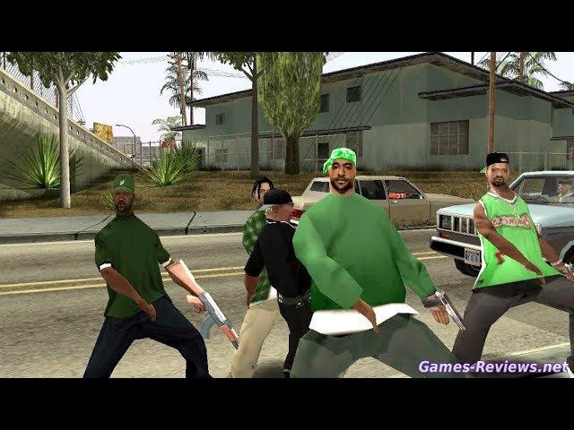 GTA San Andreas прохождение №1 » Freewka.com - Смотреть онлайн в хорощем качестве