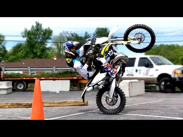 TIM COLEMAN: dirt bike trickery hard enduro skills!