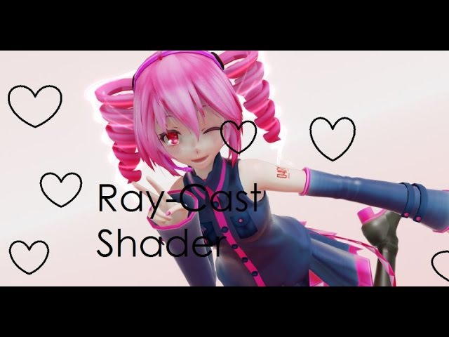 [MMD] Ray-Cast Shader Tutorial [LINKS]