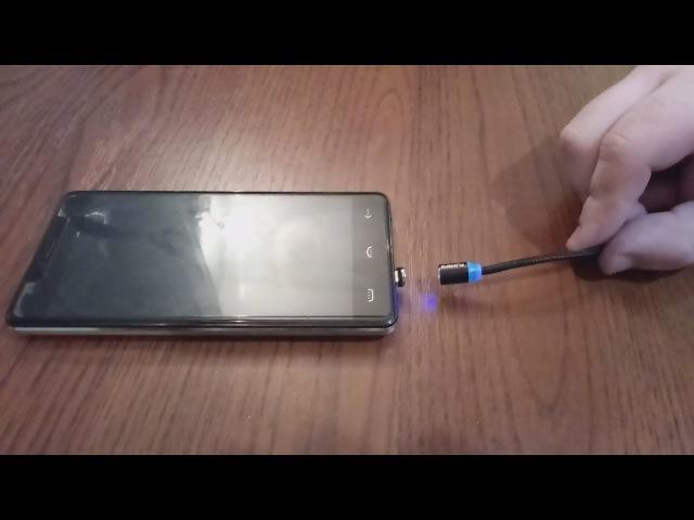 Floveme магнитный кабель для iphone x 8 7 6 plus xiaomi samsung s8 s7 1 м 2a. Aliexpress. Обзор