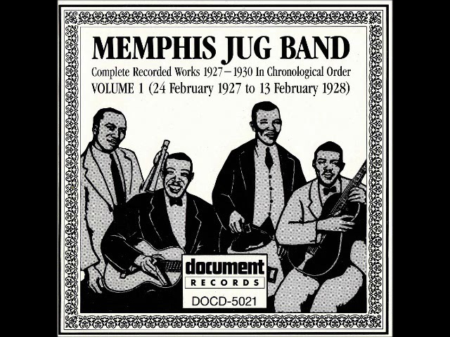 Memphis Jug Band - Complete Recorded Works Vol.1 (US, Blues, Early RB)
