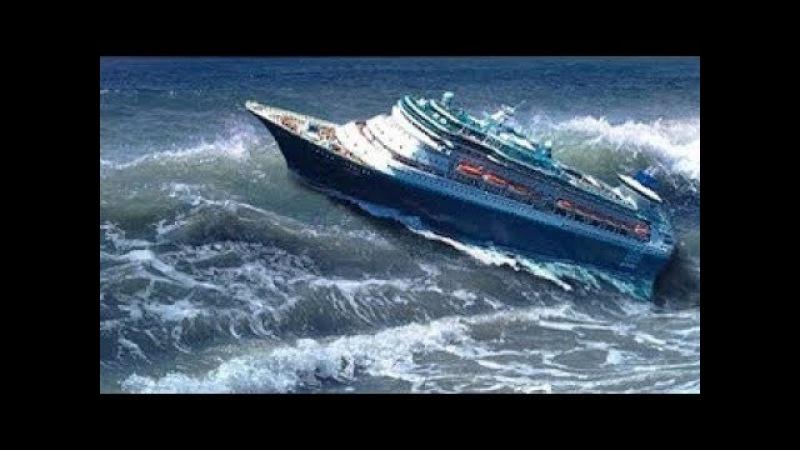 ►Большие Корабли в ШТОРМ в Океане видео | Гигантские ВОЛНЫ МОНСТРЫ | Сильный ШТОРМ