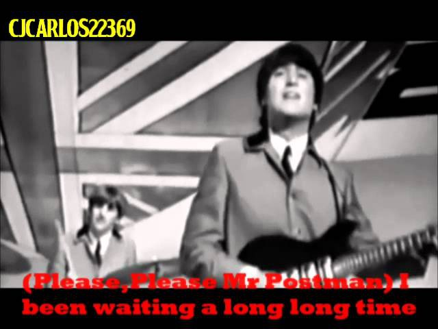 The Beatles Please Mr Postman (2009 Stereo Remaster) With Lyrics