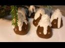 Новогодние Пирожные без выпечки/Все очень быстро и вкусно!