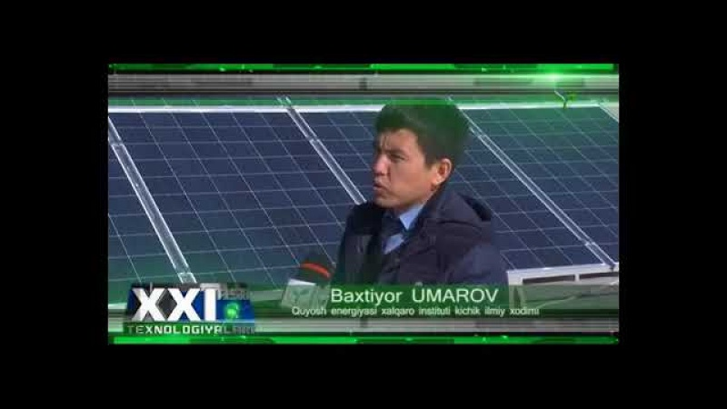 Quyosh energiyasi xalqaro instituti (XXI asr texnologiyalari ko`rsatuvida)